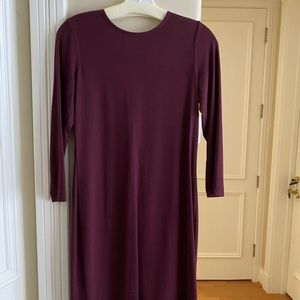 Vince Camuto burgundy Pencil Dresss